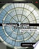 Windows System Programming Book