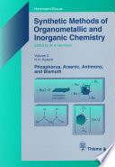 Synthetic Methods Of Organometallic And Inorganic Chemistry Volume 3 1996 Book PDF