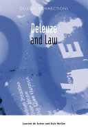 Deleuze and Law ebook