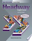 New Headway english course upper-intermediate.