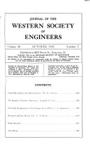 Journal Of The Western Society Of Engineers Book PDF
