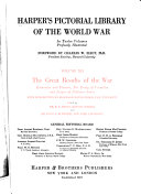 Harper S Pictorial Library Of The World War Book PDF