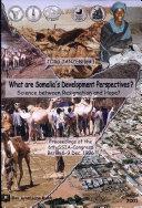 What are Somalia's Development Perspectives?