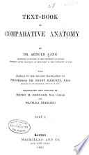 Text book of Comparative Anatomy
