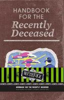 Beetlejuice  Handbook for the Recently Deceased Hardcover Ruled Journal