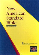 New American Standard Bible Side Column Reference Book