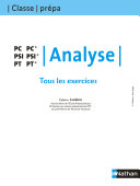Tous les exercices - Analyse - PC PSI PT