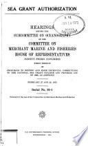 Sea Grant Authorization PDF