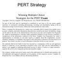 PERT Test Strategy