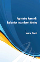 Appraising Research  Evaluation in Academic Writing