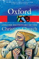 The Concise Oxford Dictionary of the Christian Church