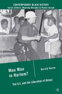 Mau Mau in Harlem? Pdf/ePub eBook