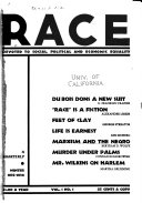 Race  Devoted to Social  Political and Economic Equality Book