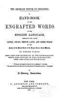 A Hand-book of the Engrafted Words of the English Language