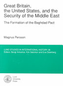 Great Britain  the United States  and the Security of the Middle East Book PDF