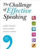 The Challenge of Effective Speaking
