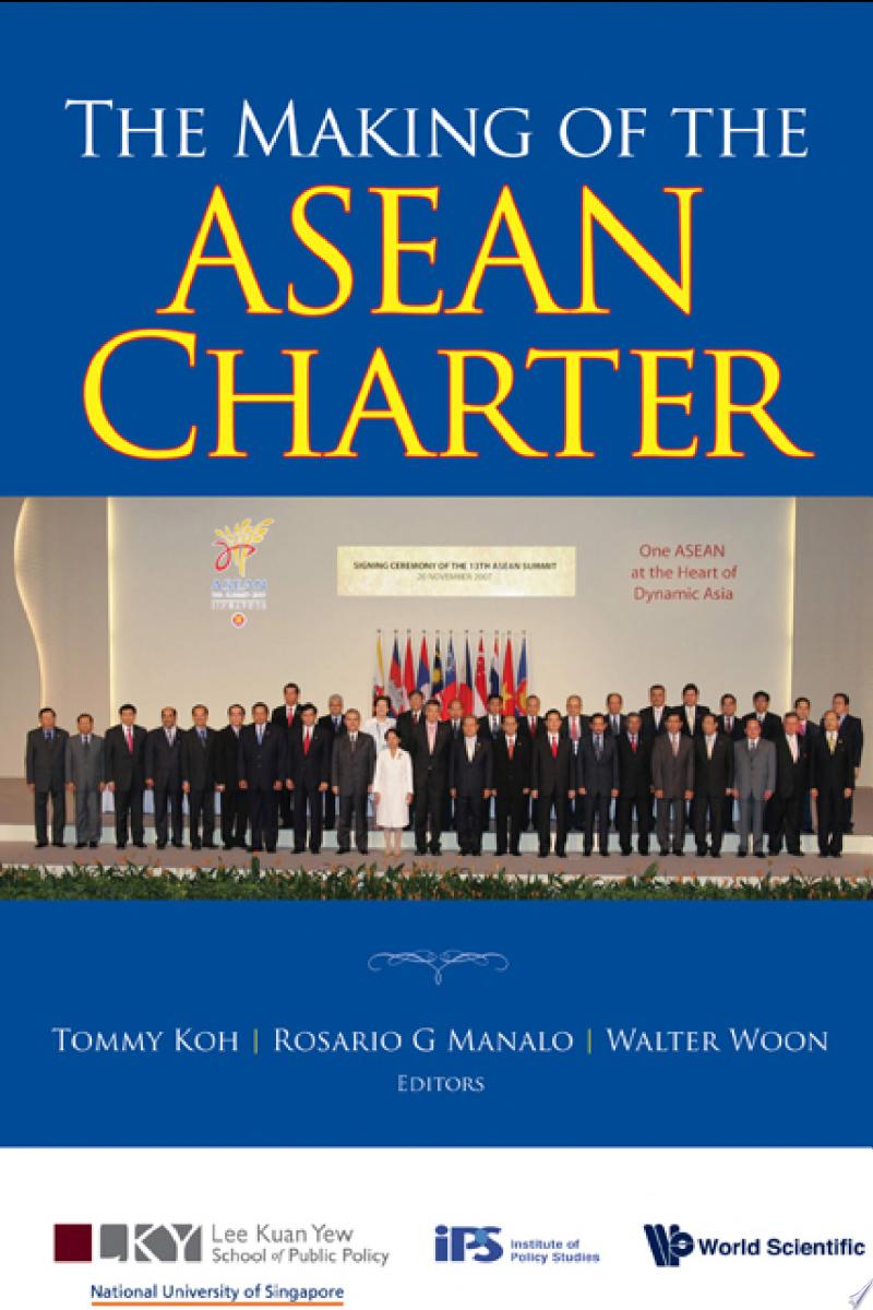 The Making of the ASEAN Charter banner backdrop