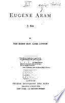 Eugene Aram Book