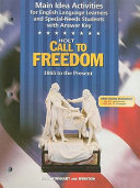 Call to Freedom Grade 7 Main Idea Activities 1865 to Present
