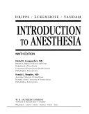 Dripps Eckenhoff Vandam Introduction to Anesthesia