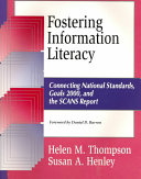 Fostering Information Literacy Book