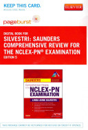 Saunders Comprehensive Review for the NCLEX-PN Examination – Pageburst E-book on Vitalsource + Evolve Access (Retail Access Cards)