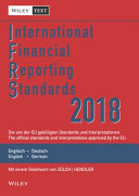 International Financial Reporting Standards  IFRS  2018