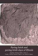Paving brick and paving brick clays of Illinois