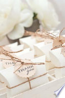 The Wedding Favors Journal