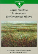Major Problems in American Environmental History Book
