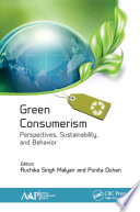 Green Consumerism  Perspectives  Sustainability  and Behavior