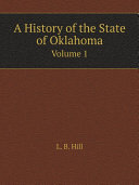 A History of the State of Oklahoma