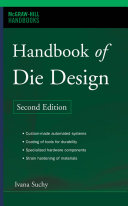 Handbook of Die Design Book