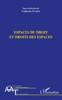 Pdf Espaces du droit et droits des espaces Telecharger