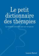 Le petit dictionnaire des thérapies