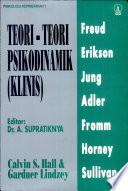 Psikologi Kepribadian 1 TEORI-TEORI PSIKODINAMIK (KLINIS)