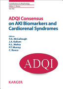 Pdf ADQI Consensus on AKI Biomarkers and Cardiorenal Syndromes Telecharger