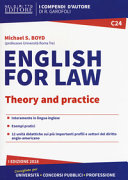 English for Law. Theory and Practice