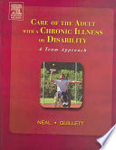 Care of the Adult with a Chronic Illness Or Disability