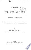 A History of the City of Rome Book PDF