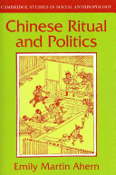 Chinese Ritual and Politics