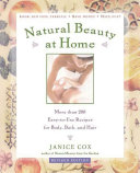 Natural Beauty at Home  Revised Edition