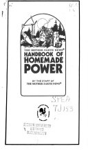 Handbook of Homemade Power