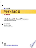 Evaluation Package for Cutnell and Johnson Physics 8E