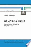 On Criminalization