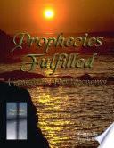 Prophecies Fulfilled  Genesis to Deuteronomy