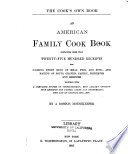 The Cook s Own Book