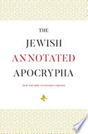 The Jewish Annotated Apocrypha Book PDF