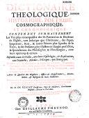 Dictionaire Theologique, Historique, Poetique, Cosmographique, Et Chronologique