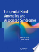 Congenital Hand Anomalies and Associated Syndromes Book